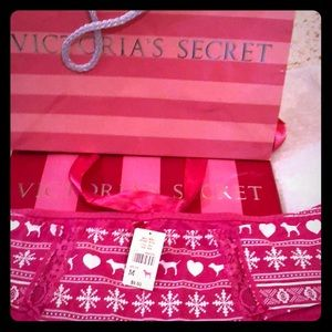 NWT Victoria's Secret PINK medium pink panties